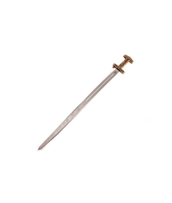 Das Wikingerschwert von Marto mit bronzenem Griff.