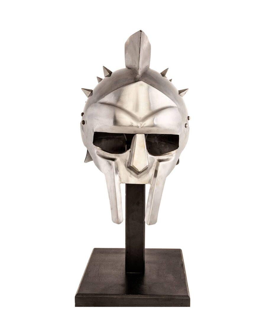 Gladiatorenhelm Maximus frontal
