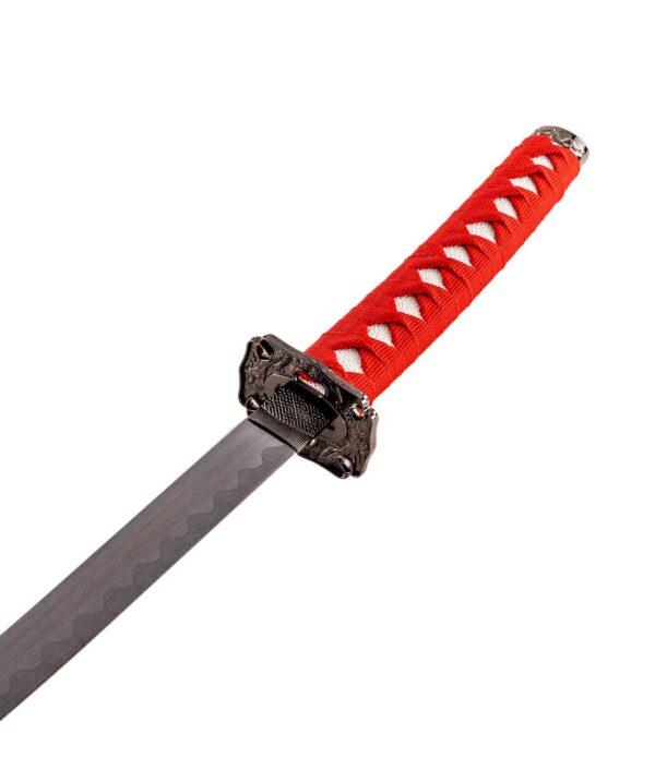 Samurai Garnitur Red Dragon Roter Griff
