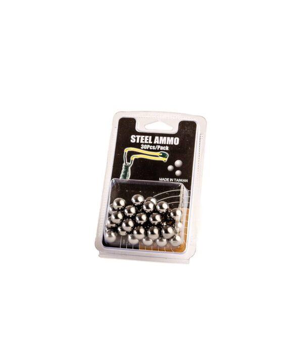 30 Ersatzkugeln für Steinschleuder