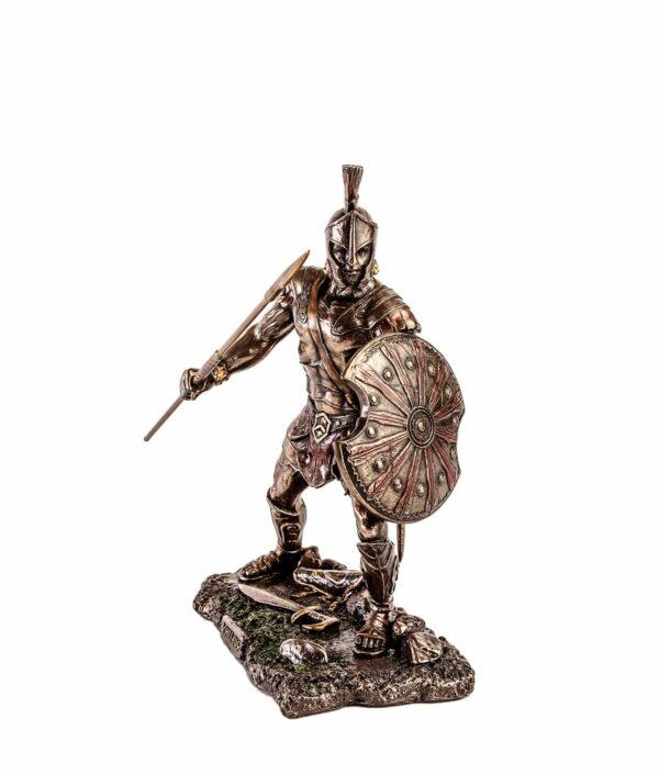 Achilles mit Schild und Speer