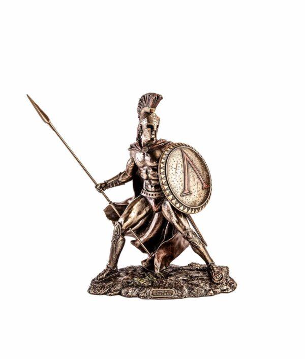 Leonidas mit Speer und Schild