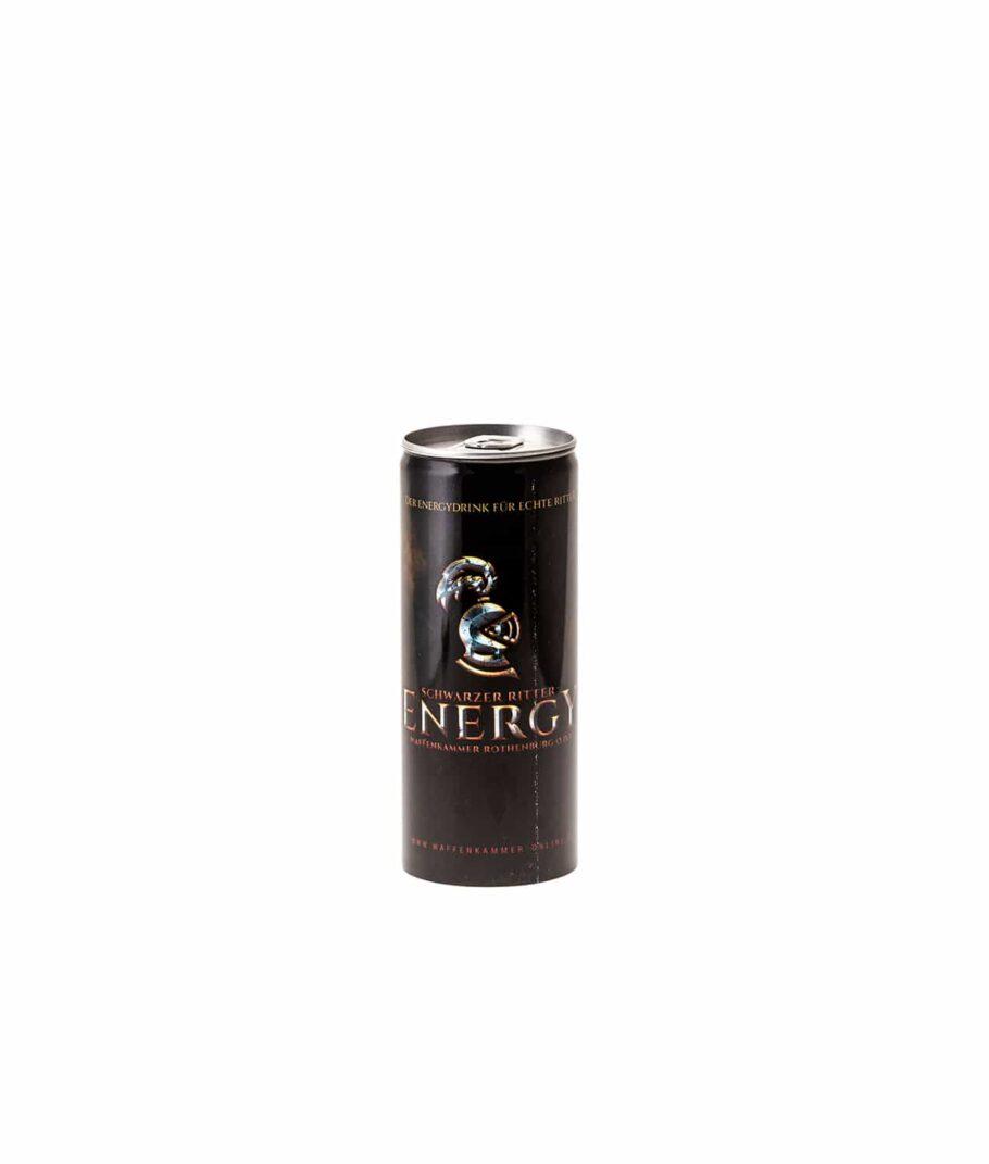 Schwarzer Ritter Energy Drink der Waffenkammer Rothenburg
