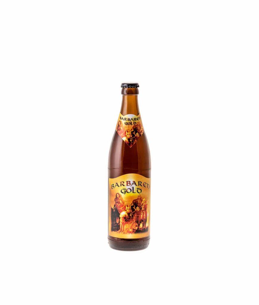 Barbarengold 0,5 Liter Glasflasche