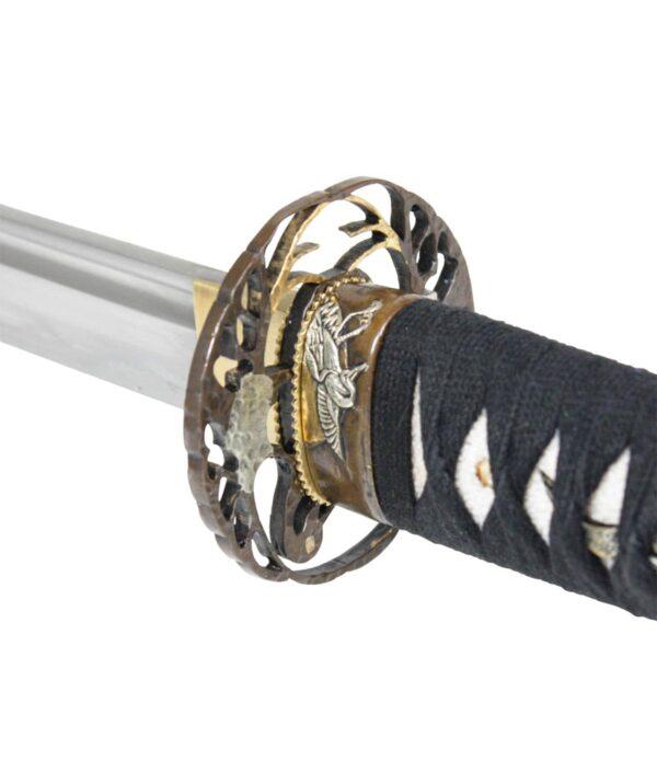 Tsuba des Tsuru Katana von John Lee.