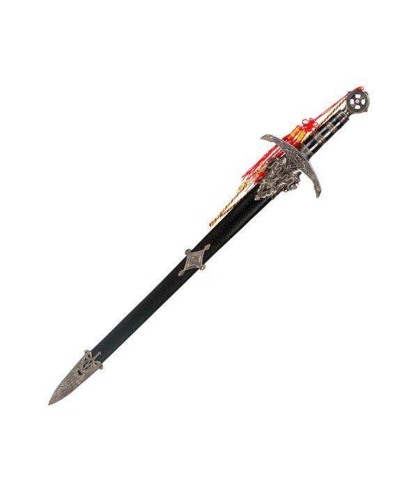 Kurzschwert von Robin Hood mit Scheide.