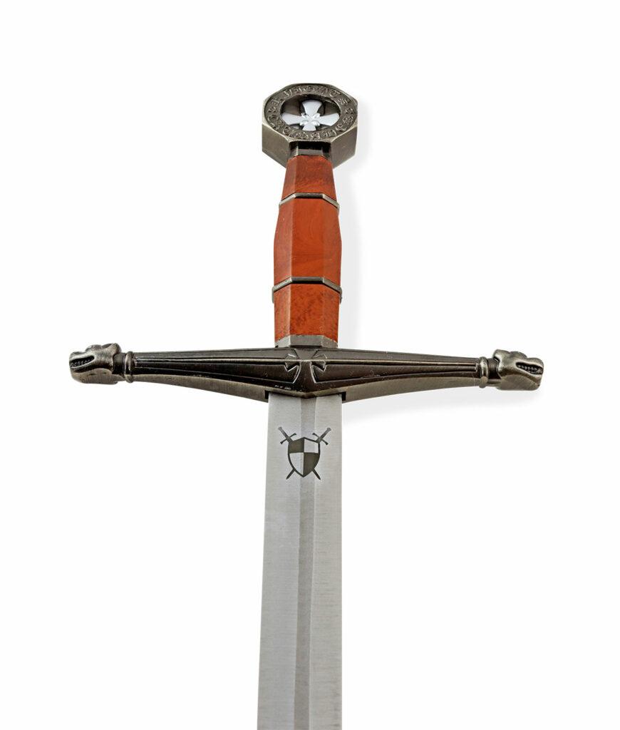 Langdolch der Templer mit Waffenkammer Logo