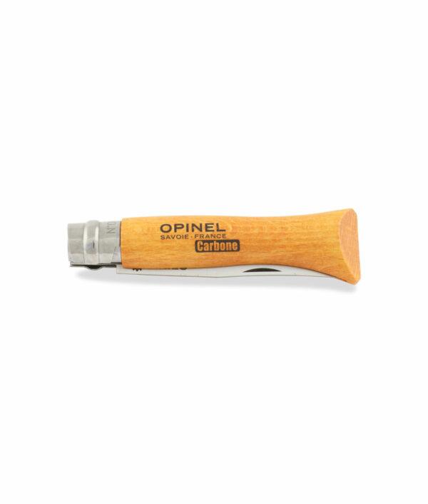 Opinel Taschenmesser Nr.6 mit Klinge aus Carbonstahl zu.