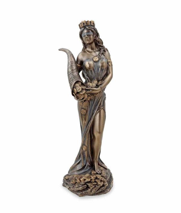 Römische Göttin Fortuna, die Göttin des Glücks mit Füllhorn