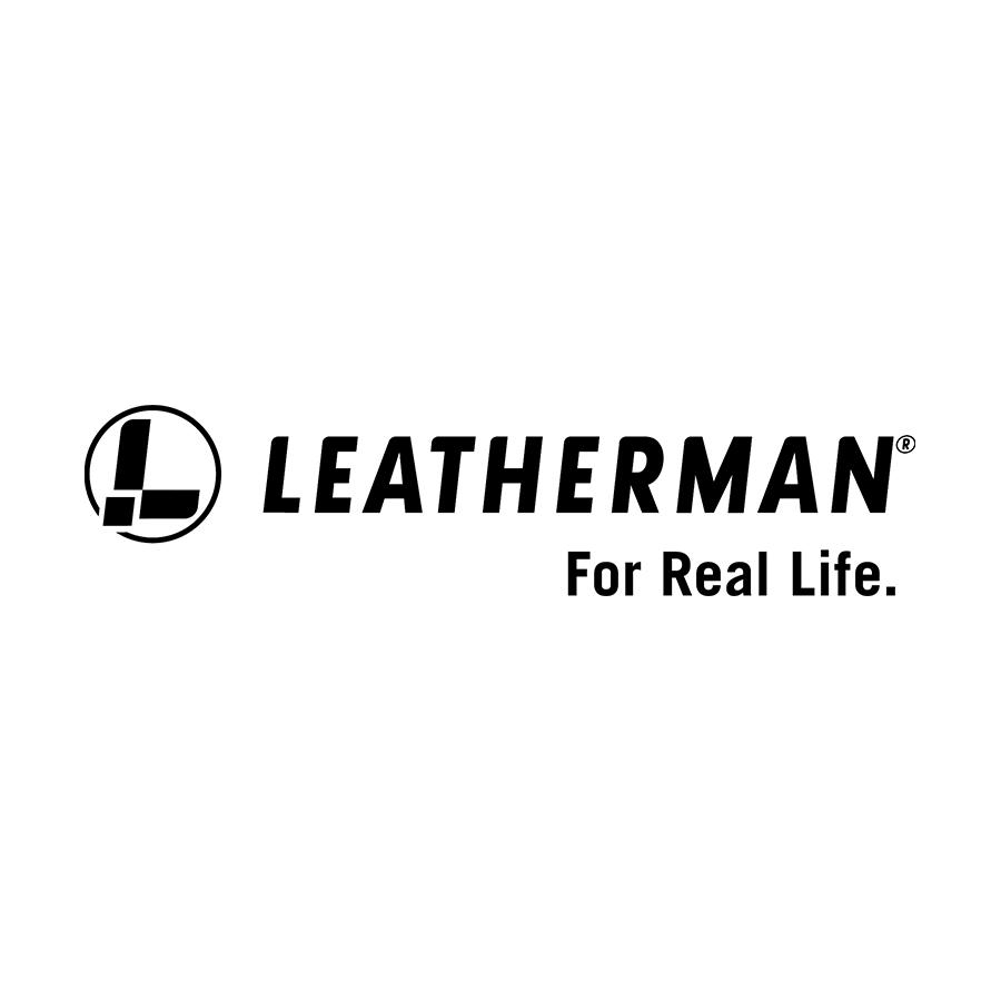 Logo von Leatherman.