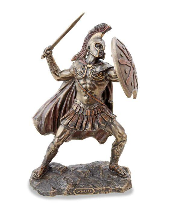 Achilles Figur bronziert