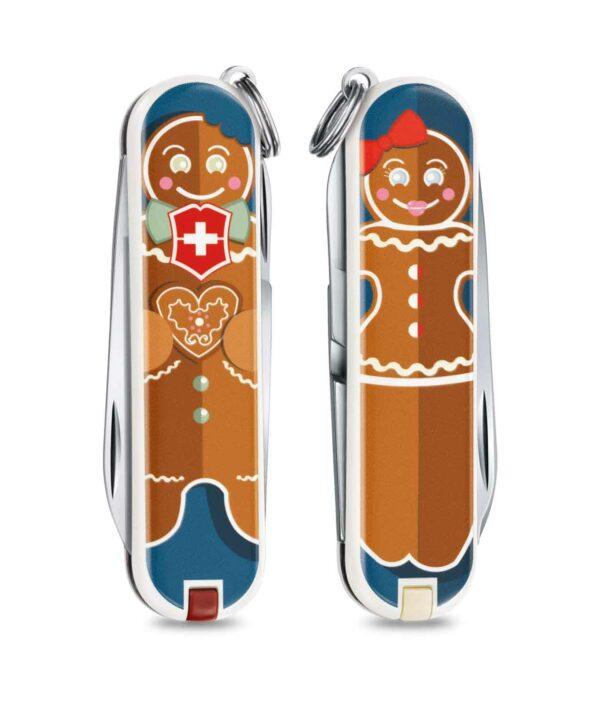 Victorinox Classic 2019 Gingerbread love Vorder-und Rückseite