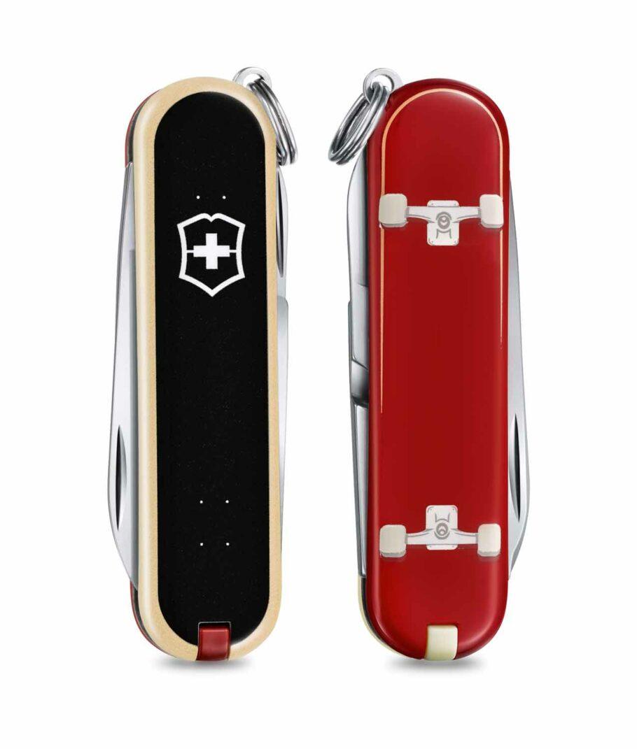 Victorinox Classic Limited Edition 2020 Skateboarding Vorder- und Rückseite