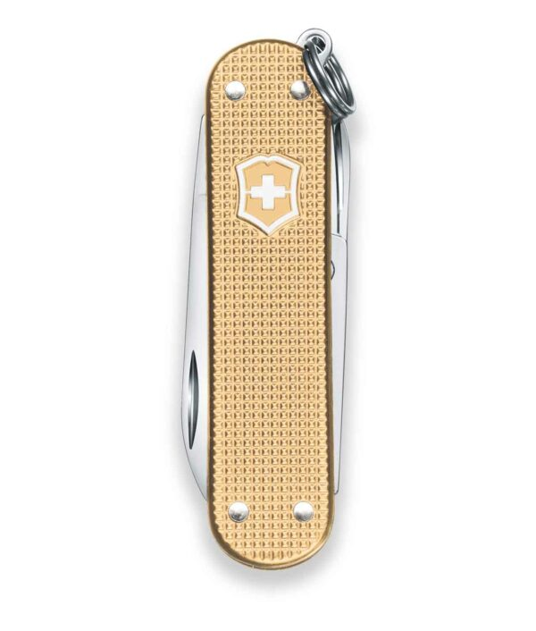 Victorinox Classic Alox Limited Edition 2019 in Champagner Gold