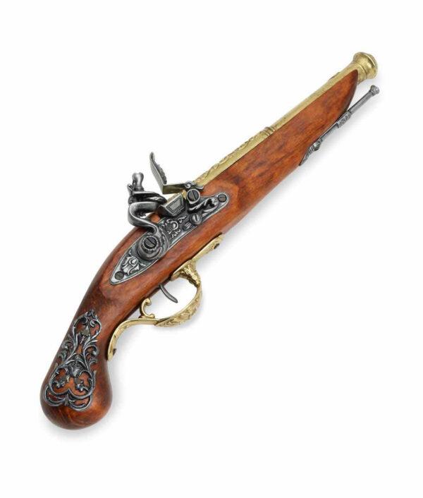 Englische Steinschlosspistole