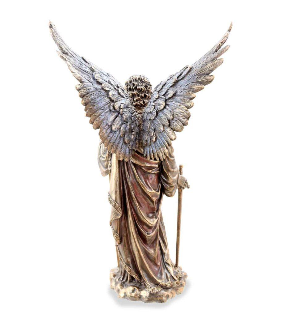Erzengel Zadkiel der Engel der Gerechtigkeit Rückansicht