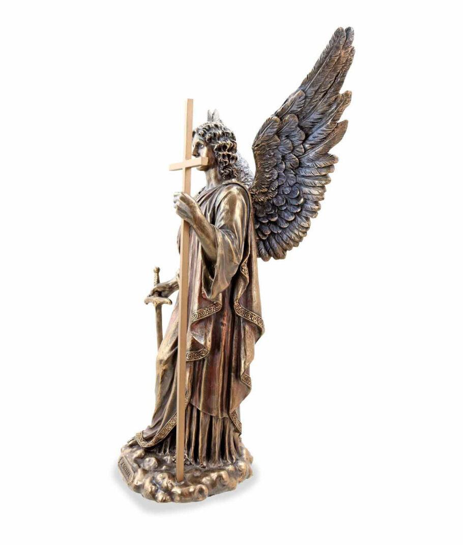 Erzengel Zadkiel der Engel der Gerechtigkeit linke Seite