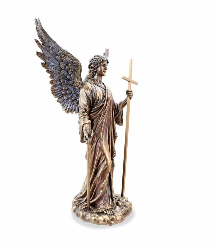 Erzengel Zadkiel der Engel der Gerechtigkeit rechte Seite