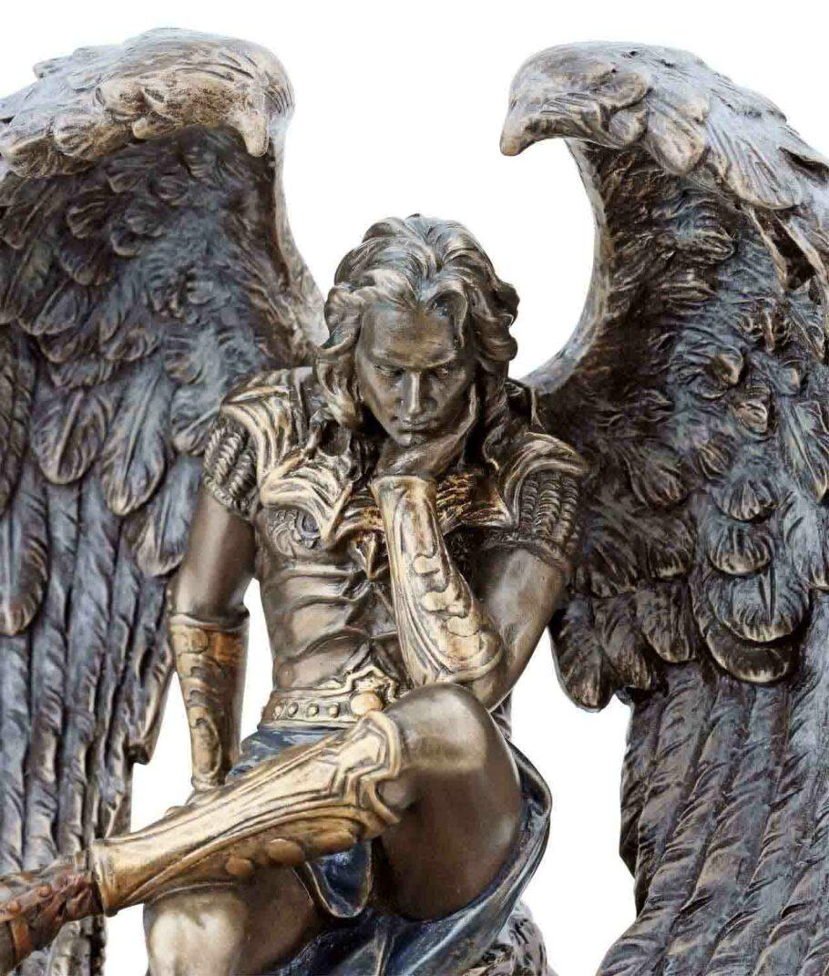 Gefallener Engel Luzifer Gesicht