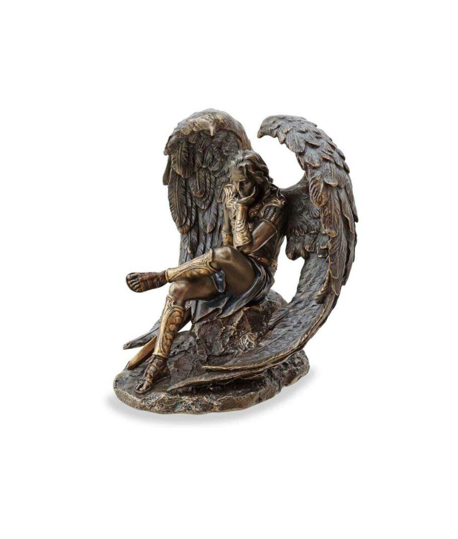 Gefallener Engel Luzifer linke Seite