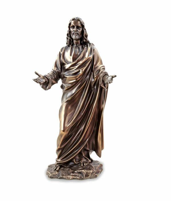 Jesus der Prediger, bronziert