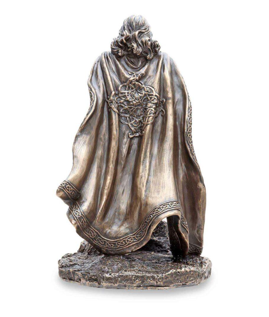 König Arthus zieht Excalibur aus dem Stein - Rückansicht