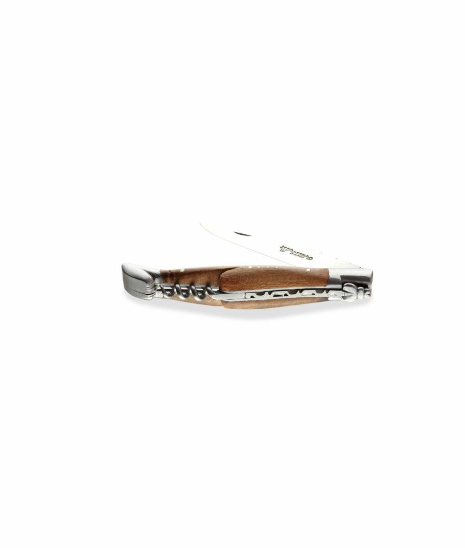 Laguiole en Aubrach Messer 12cm mit dem Holz der Weinrebe Rückenplatine