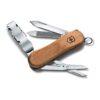 Victorinox Nail Clip Wood 580 geöffnet