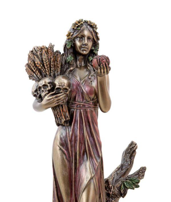 Griechische Göttin der Unterwelt Persephone Gesicht