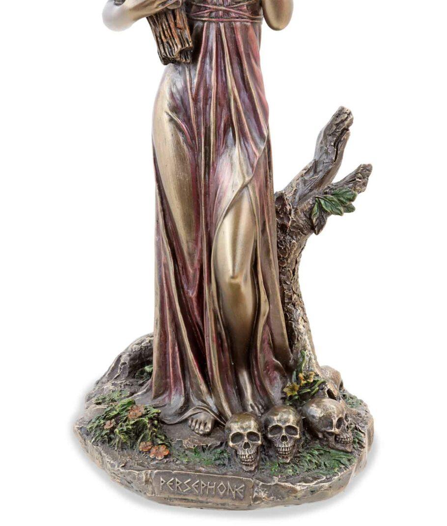 Griechische Göttin der Unterwelt Persephone Sockel