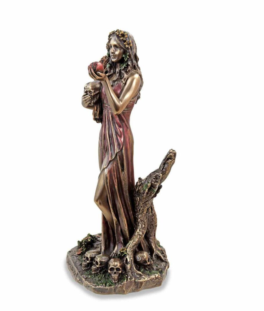 Griechische Göttin der Unterwelt Persephone linke Seite