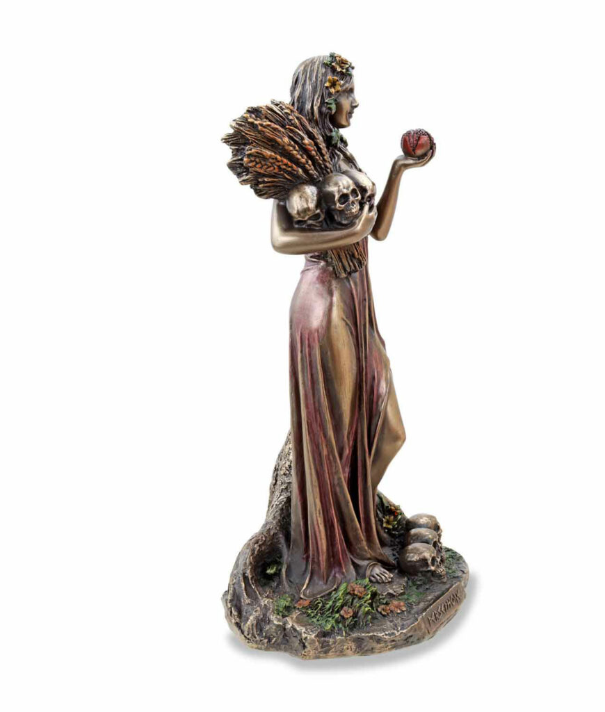 Griechische Göttin der Unterwelt Persephone rechte Seite