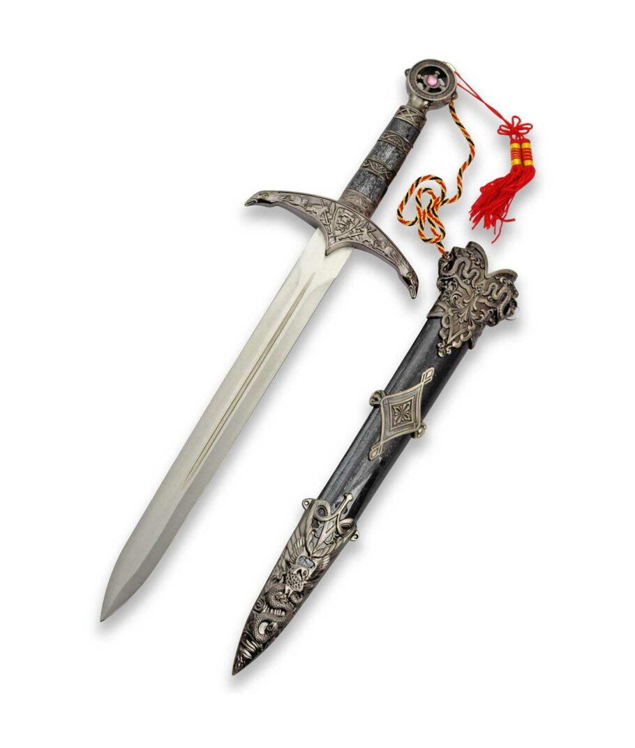Der dunkle Robin Hood Dolch mit Scheide der Waffenkammer Edition