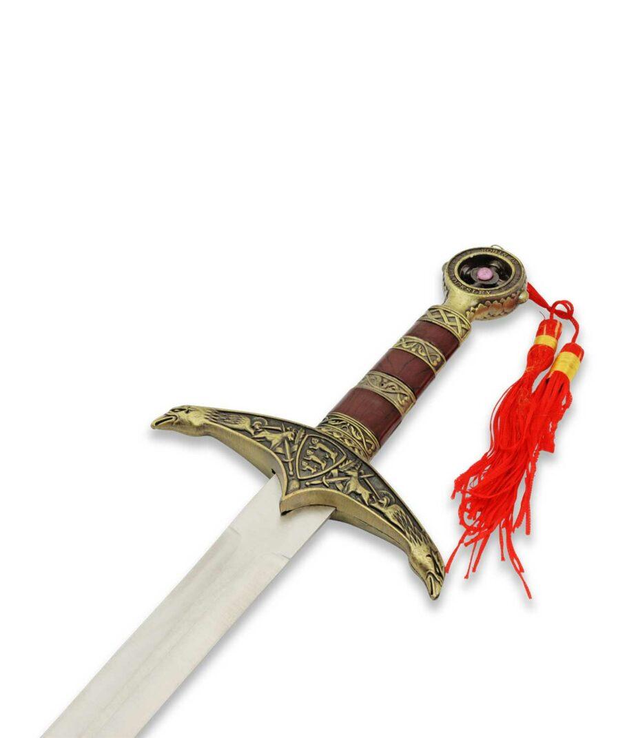 Der Braun Goldene Griff des Robin Hood Dolchs aus der Waffenkammer Edition