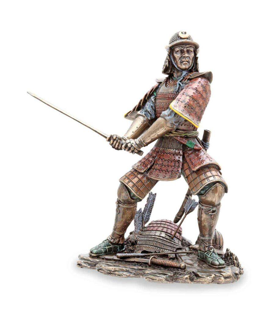 Samuraikriefer mit Schwert