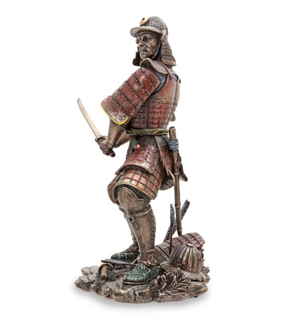 Samuraikriefer mit Schwert - linke Seite