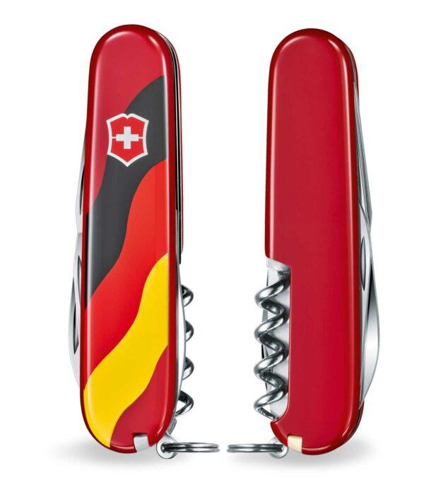 Victorinox Spartan Deutschland rot beidseitig