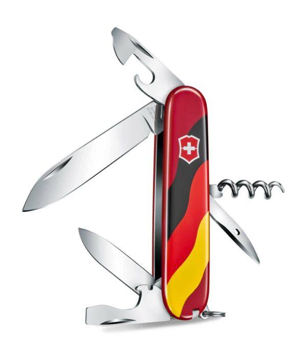 Victorinox Spartan Deutschland rot geöffnet 1-3603-E28_B1