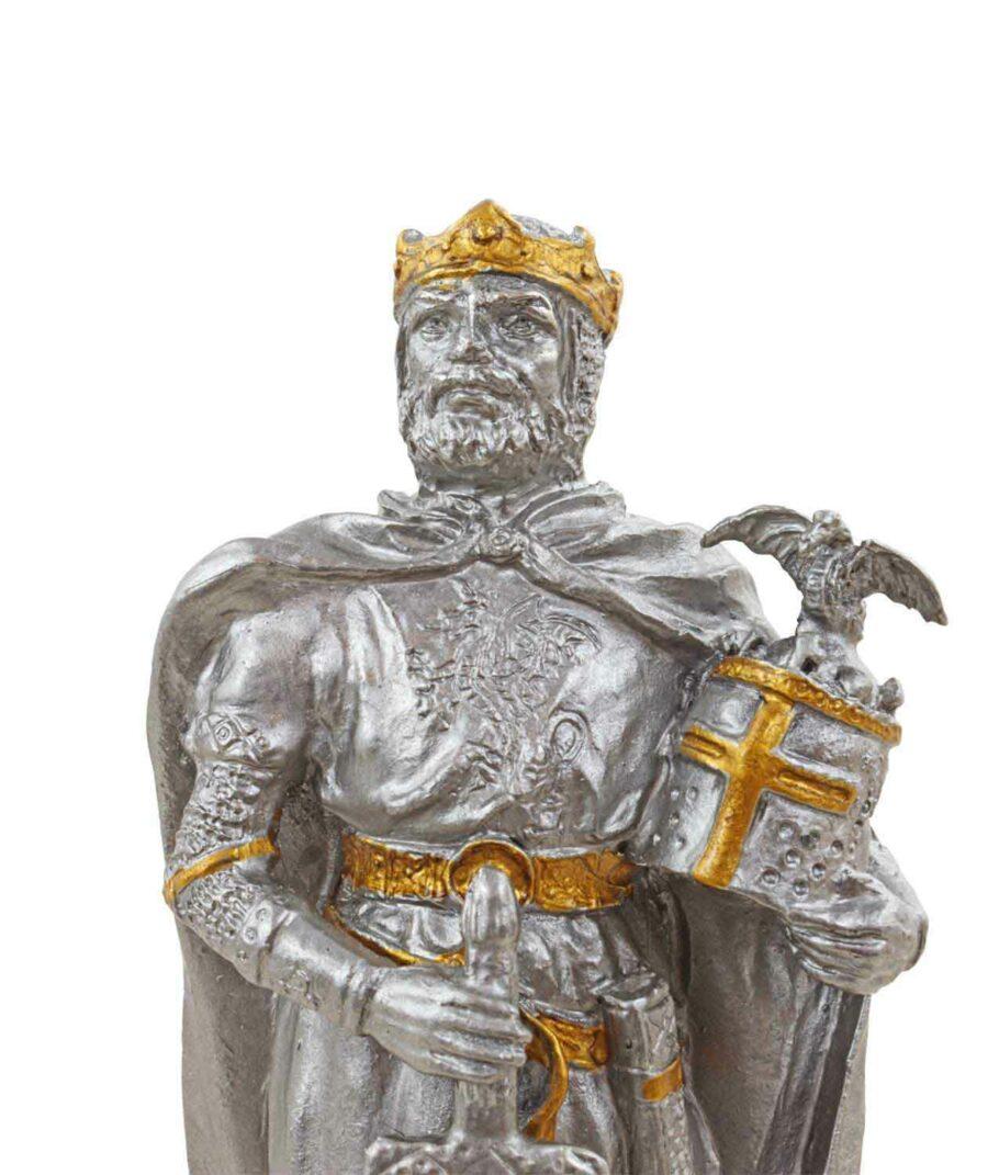 Zinnritter - König Arthurs Gesicht