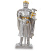 Zinnritter - König Arthur mit Krone