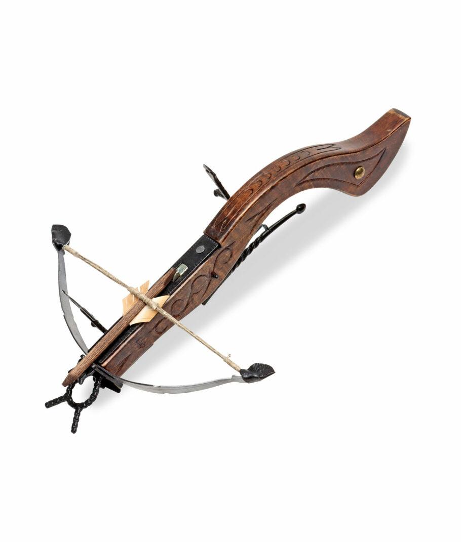 kleine Mittelalterliche Armbrust 32 cm  frontal