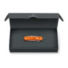 Victorinox Classic Alox Limited Edition 2021 in Tigerorange in Geschenkverpackung