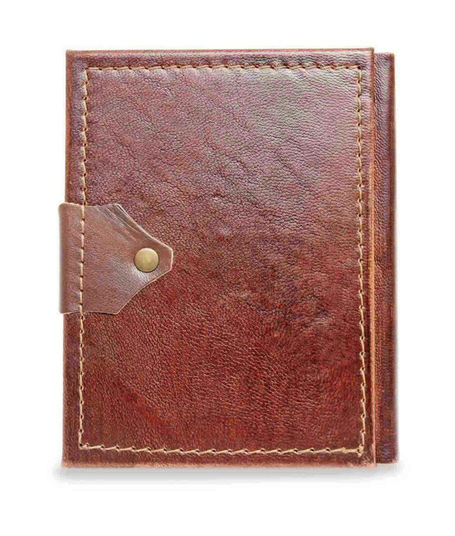 KLeines Lederbuch Rückseite